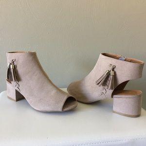 Qupid Peep Toe Style Ankle Bootie 8